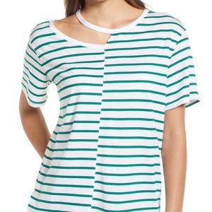 BP. Stripe Remix T-Shirt